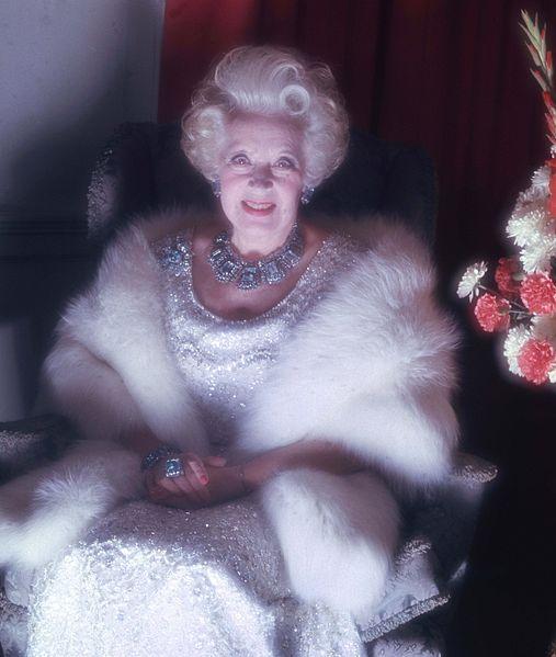 Dame Barbara Cartland (1987)