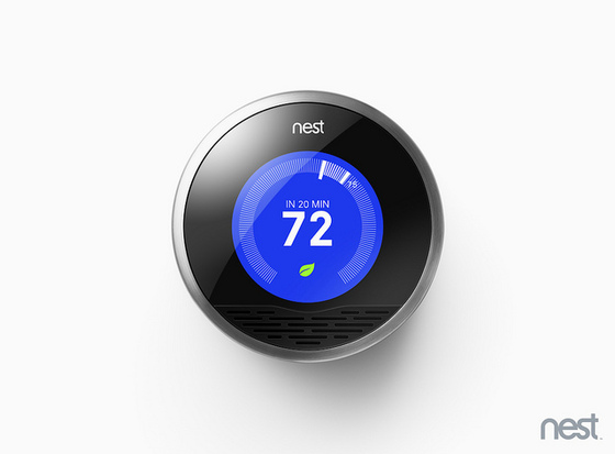 Nest thermostat caters the temperature of your home to your schedule. Flickr / Nest