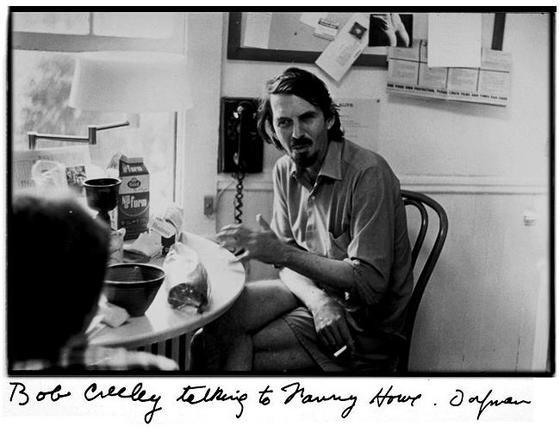 <i>Robert Creeley</i> (1972). Photograph by Elsa Dorfman. Wikimedia Commons