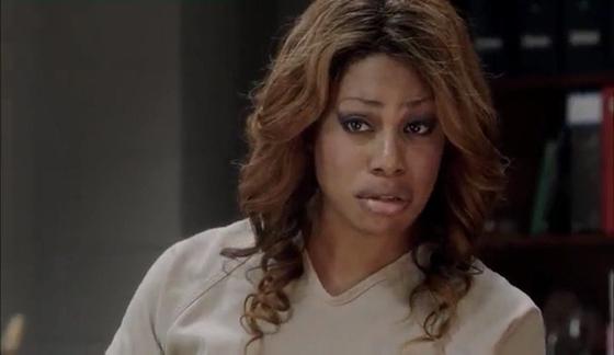 Laverne Cox as Sophia Burset, <i>Orange Is the New Black</i>, Season 1, Episode 3