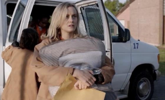 Taylor Schilling as Piper Chapman, <i>Orange Is the New Black</i>, Season 1, Episode 1