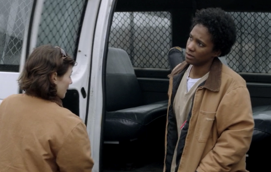 Vicky Jeudy as Janae Watson, <i>Orange Is the New Black</i>, Season 1, Episode 7
