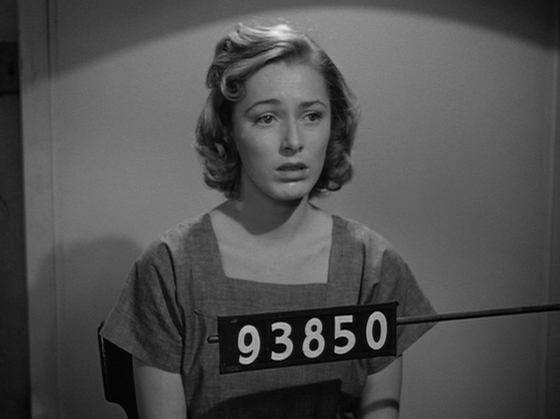 Eleanor Parker as Marie Allen in <i>Caged</i> (1950).