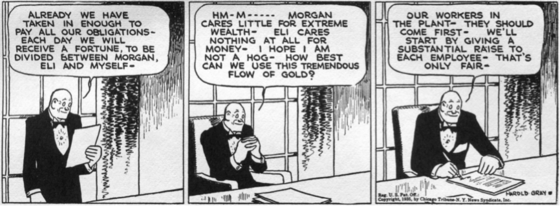 Harold Gray, <i>Little Orphan Annie</i>, July 10, 1935