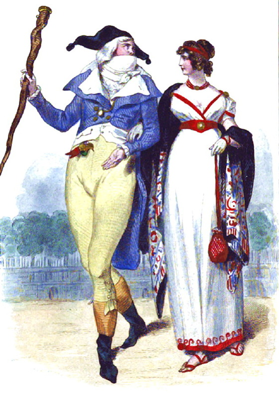 H. Baron, <i>Incroyable et Merveilleuse</i>, 1843