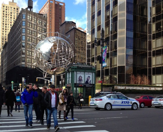 <i>Columbus Circle</i>. Photograph by Ellis Avery