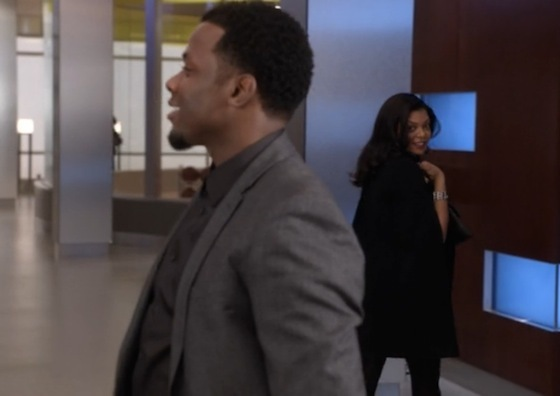 Cookie and Malcom in episode 6, Out, Damned Spot