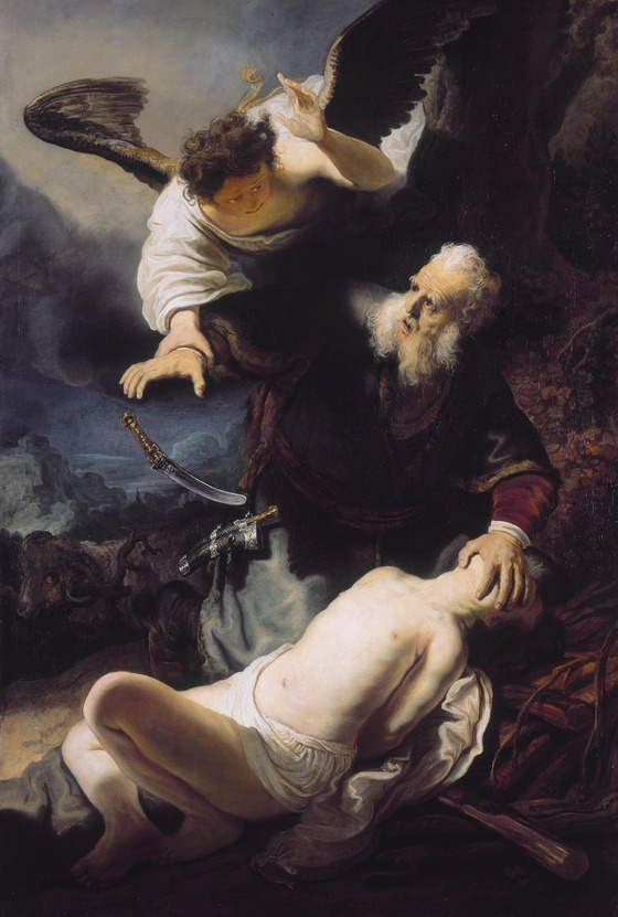 Rembrandt, <i>The Sacrifice of Isaac</i> (1636). Oil on canvas