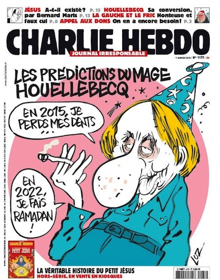 <i>The predictions of the wizard Houellebecq: In 2015, Ill lose my teeth & In 2022, Ill celebrate Ramadan!</i>