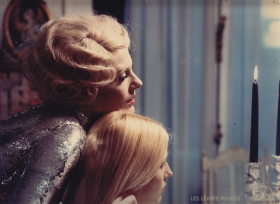 Delphine Seyrig and Danielle Ouimet in <i>Daughters of Darkness</i>