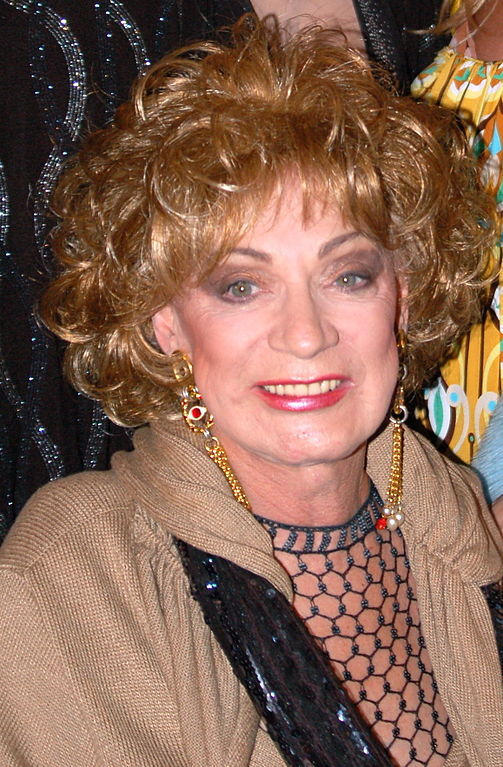 Holly Woodlawn in May 2007. Photograph by Angela George / Wikimedia Commons