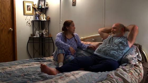 Ron and Alicia Hall in <i>Stray Dog</i>