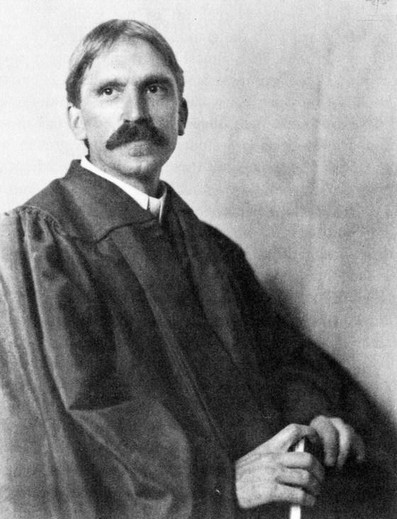 John Dewey in 1902. Photograph from Wikimedia Commons
