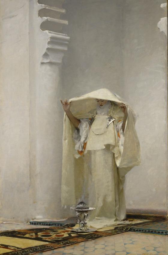 John Singer Sargent, <em>Fumée d'Ambre Gris </em> (1880).