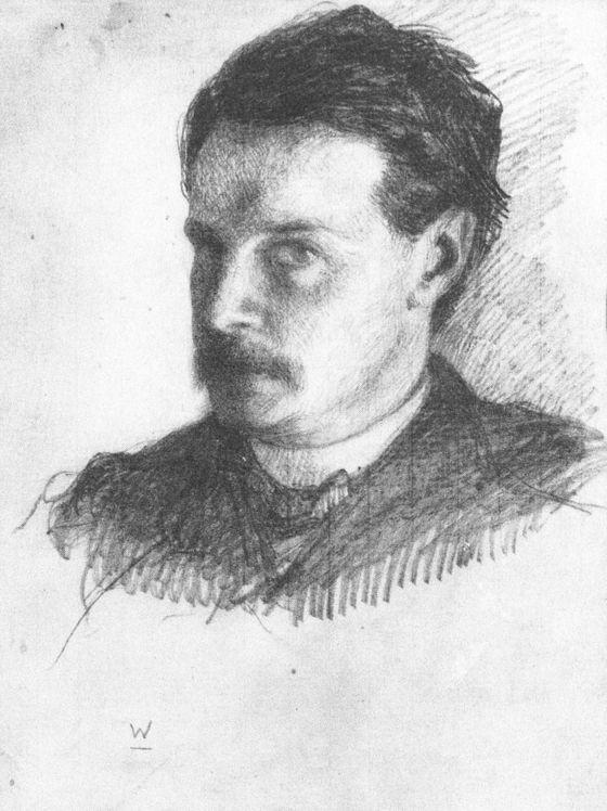 William James, <em>Self-Portrait</em> (1866).