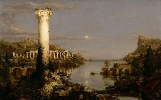 Thomas Cole, <i>The Course of Empire: Desolation</i> (1836)