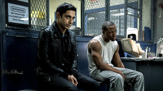 "Nasir ""Naz"" Khan (Riz Ahmed, left), the naive defendant in <i>The Night Of</i>'s murder case."