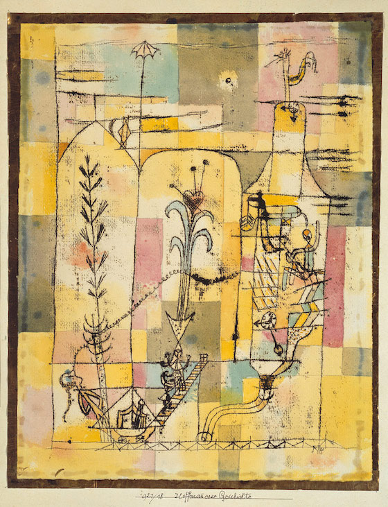 Paul Klee, <i>Tale à la Hoffmann</i> (1921). Photograph courtesy of The Met Museum / Wikimedia Commons