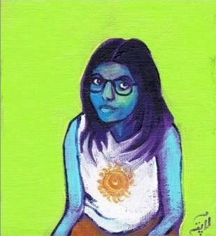 <i>Shubham Shree's distinctive, feminist poetry makes her a ready target for the Hindi literary establishment</i>. Image courtesy of Daisy Rockwell.