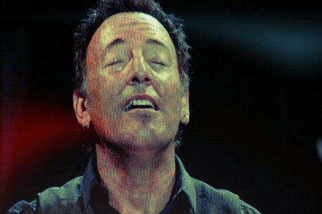Bruce Springsteen performs during his Wrecking Ball tour