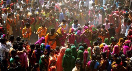 Adivasi dancing