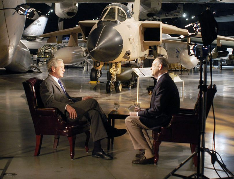 Bill O'Reilly interviews former President George W. Bush, November 2010