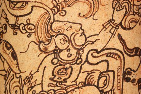 Guatemalan vessel detail