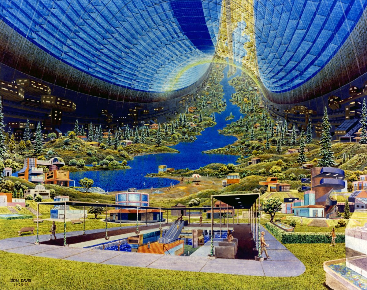 Building Utopia in Space
